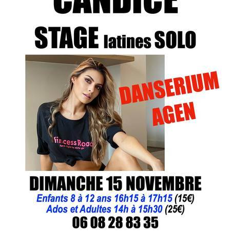 STAGE CANDICE PASCAL